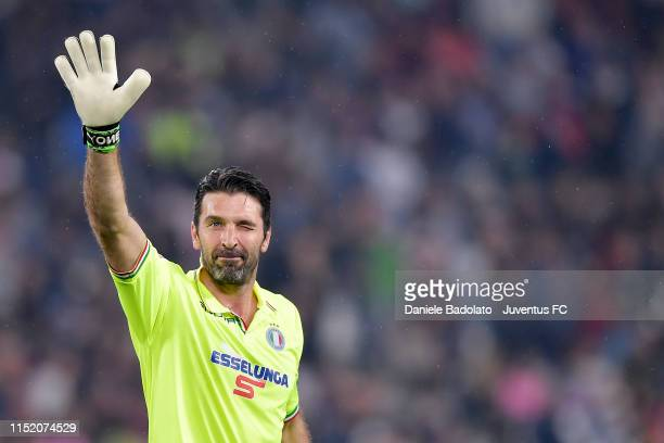 Gianluigi Buffon during the 'Partita Del Cuore' Charity Match at Allianz Stadium on May 27 2019 in Turin Italy