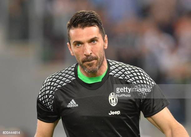 e00aa9bc4 Gianluigi Buffon during the Tim Cup football match FC Juventus vs SS Lazio  at the Olympic