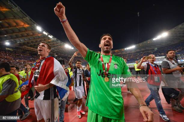 3b94140d0 Gianluigi Buffon during the Tim Cup football match F.C. Juventus vs... News  Photo - Getty Images