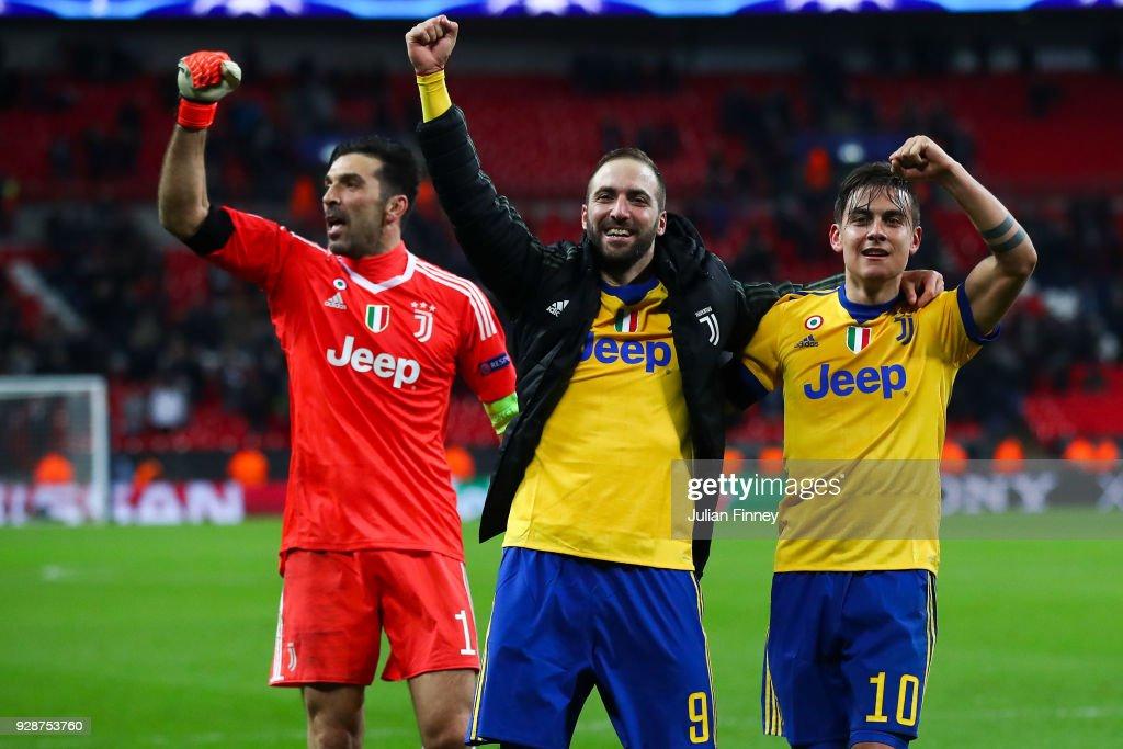 Tottenham Hotspur v Juventus - UEFA Champions League Round of 16: Second Leg : Foto jornalística