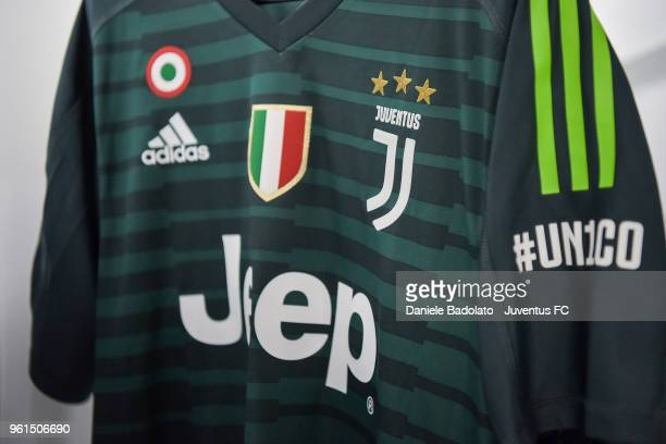 b10f3e38b Gianluigi Buffon jersey in the dressing room before the serie A match  between Juventus and Hellas