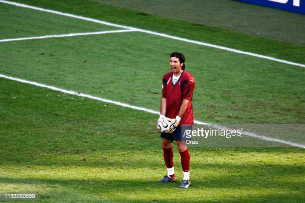 Gianluigi BUFFON of Italy during the FIFA World Cup match between Italy and Australia in the FritzWalterStadion Kaiserslautern Germany on Jun 26th...