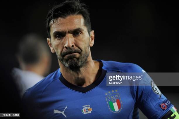 Gianluigi Buffon of Italy goalkeeper during the match valid for the Qualifying Round of Fifa World Cup Russia 2018 between Italy Macedonia at Olympic...