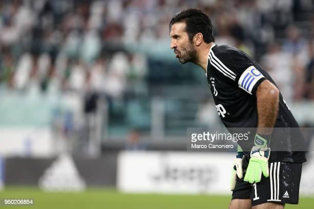 Gianluigi Buffon of Juventus FC during the Serie A football match between Juventus FC and Ssc Napoli Ssc Napoli wins 10 over Juventus Fc