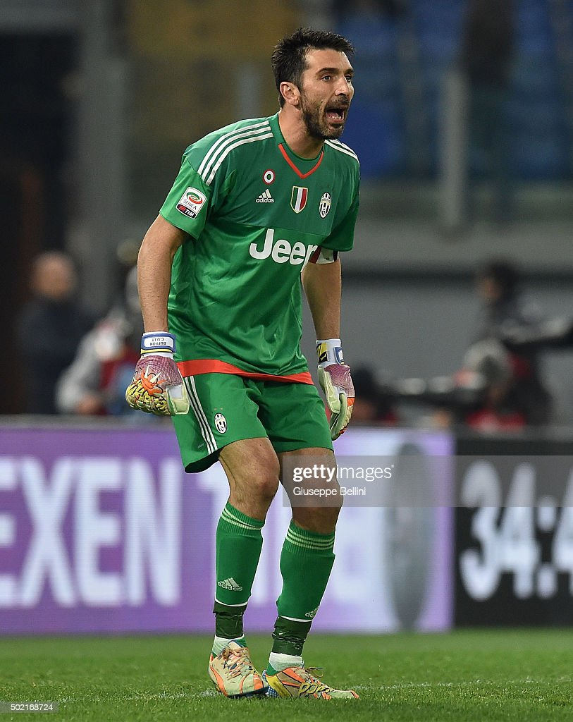 2b28452bb Gianluigi Buffon of Juventus FC in action during the Serie A match ...
