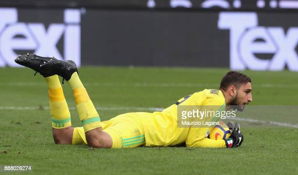 Gianluigi Donnarumma of Milan during the Serie A match between Benevento Calcio and AC Milan at Stadio Ciro Vigorito on December 3 2017 in Benevento...