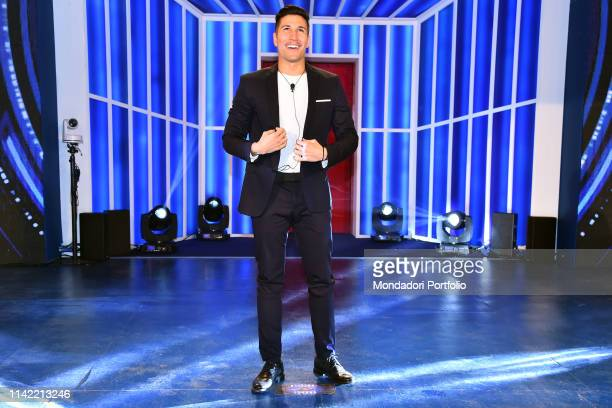 Gianmarco Onestini during the entry of the competitors in the first episode of the broadcast Grande Fratello 16 to the studios of Cinecitta' Rome...