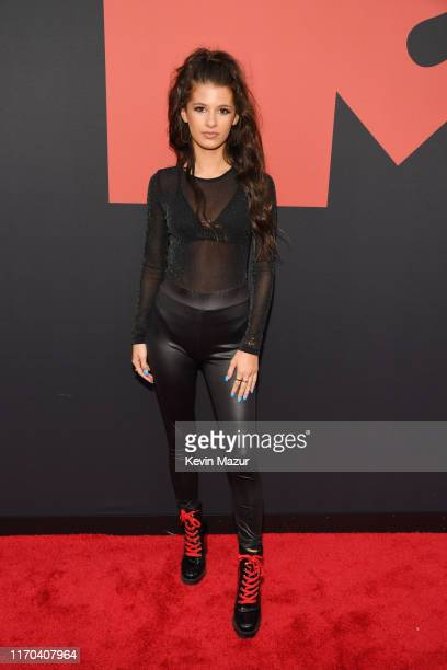 Gianna Ferazi attends the 2019 MTV Video Music Awards at Prudential Center on August 26 2019 in Newark New Jersey
