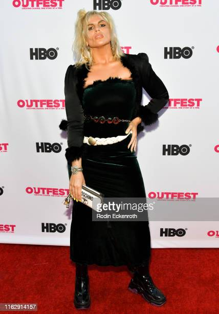 Gianna Gianna attends the Outfest Los Angeles LGBTQ Film Festival Opening Night Gala premiere of Circus Of Books at Orpheum Theatre on July 18 2019...