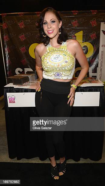 Gianna Michaels attends Exxxotica Expo 2013 on May 31 2013 in Fort Lauderdale Florida