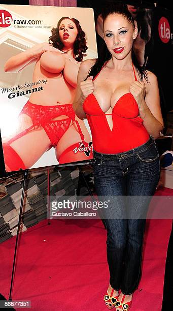 Gianna Michaels attends Exxxotica Miami Beach at Miami Beach Convention Center on May 9 2009 in Miami Beach Florida