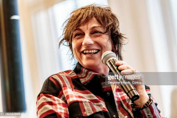 Gianna Nannini at Terrazza Martini for the Milano Music Week on November 23 2019 in Milan Italy
