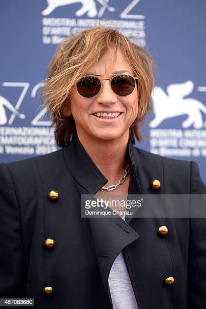 Gianna Nannini attends a photocall for 'Janis' during the 72nd Venice Film Festival at on September 6 2015 in Venice Italy