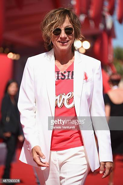 Gianna Nannini attends a premiere for 'Janis' during the 72nd Venice Film Festival at on September 6 2015 in Venice Italy