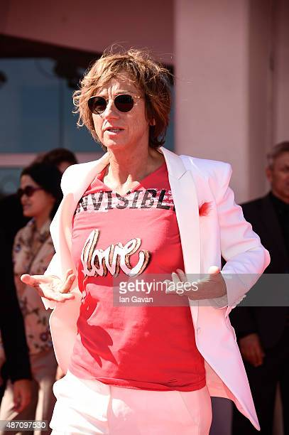 Gianna Nannini attends a premiere for 'Janis' during the 72nd Venice Film Festival at Sala Grande on September 6 2015 in Venice Italy