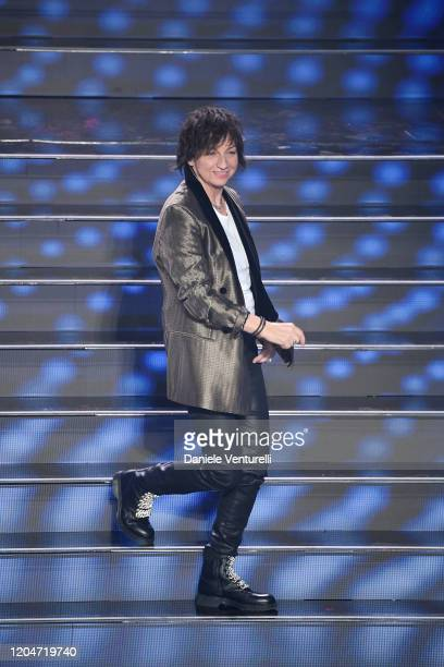 Gianna Nannini attends the 70° Festival di Sanremo at Teatro Ariston on February 07 2020 in Sanremo Italy