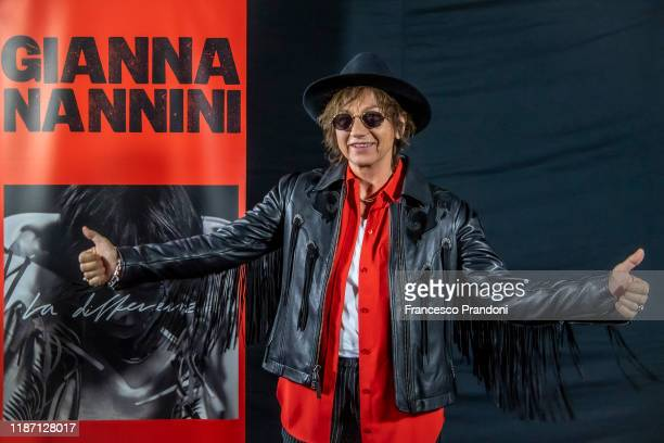 Gianna Nannini New Album La Differenza Presentation on November 12 2019 in Milan Italy