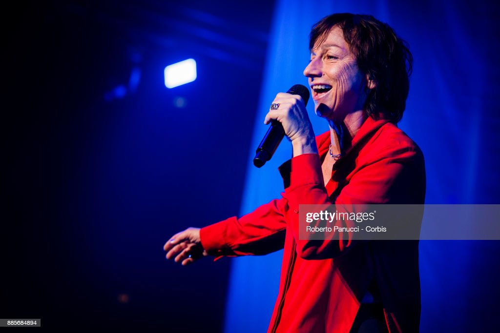 Gianna Nannini perform on stage on December 2, 2017 in Rome, Italy.