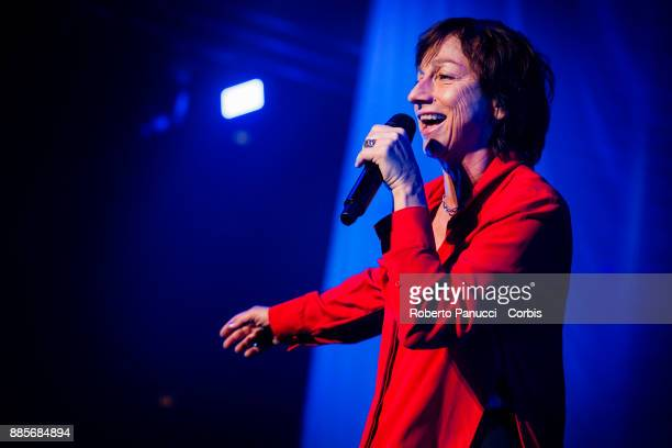 Gianna Nannini perform on stage on December 2 2017 in Rome Italy