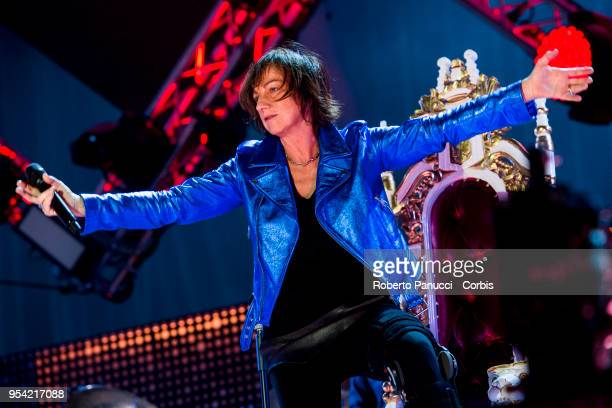 Gianna Nannini perform on stage on May 1 2018 in Rome Italy