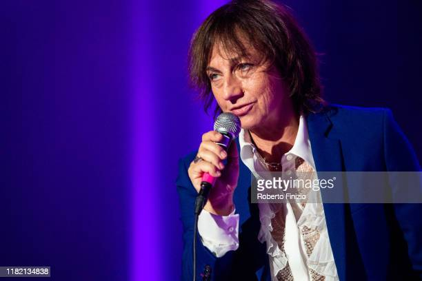 Gianna Nannini performs at the Tenco Prize 2019 at Teatro Ariston on October 19 2019 in Sanremo Italy