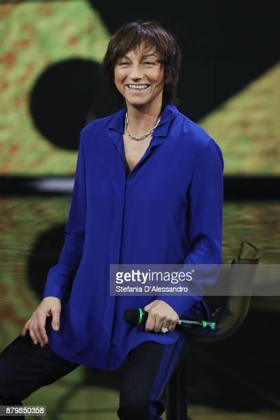Gianna Nannini performs live at 'Che Tempo Che Fa' Tv Show on November 26 2017 in Milan Italy