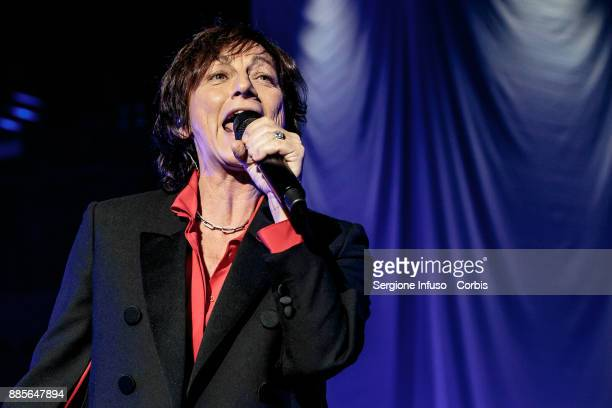 Gianna Nannini performs on stage Mediolanum Forum of Assago on December 4 2017 in Milan Italy