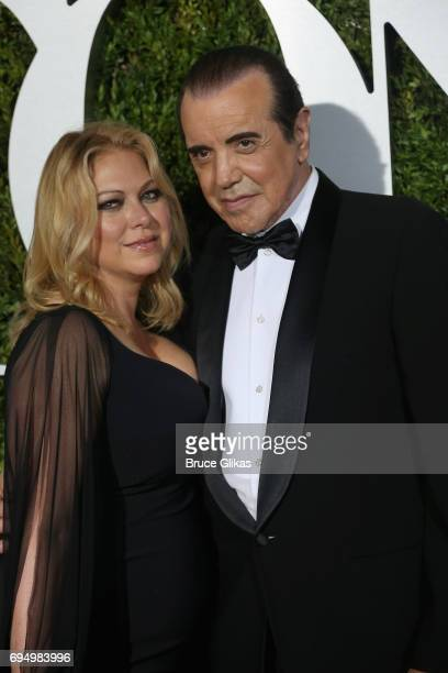 Gianna Ranaudo and actor Chazz Palminteri attend the 71st Annual Tony Awards at Radio City Music Hall on June 11 2017 in New York City