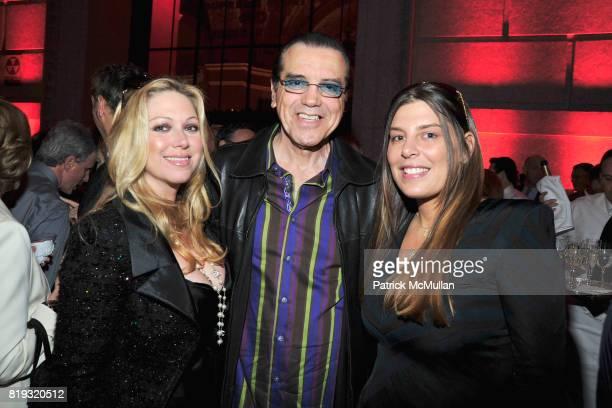 Gianna Ranaudo Chazz Palminteri and Claudine DeMatos attend VANITY FAIR TRIBECA FILM FESTIVAL Opening Night Dinner Hosted by ROBERT DE NIRO GRAYDON...