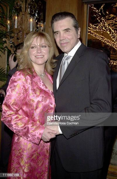 Gianna Ranaudo Palminteri and Chazz Palminteri during Cooley's Anemia Foundation's Gala at Tavern on the Green in New York City New York United States