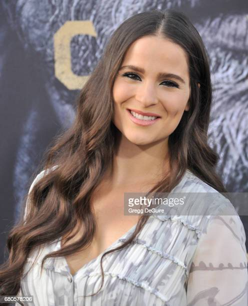 Gianna Simone arrives at the premiere of Warner Bros Pictures' 'King Arthur Legend Of The Sword' at TCL Chinese Theatre on May 8 2017 in Hollywood...