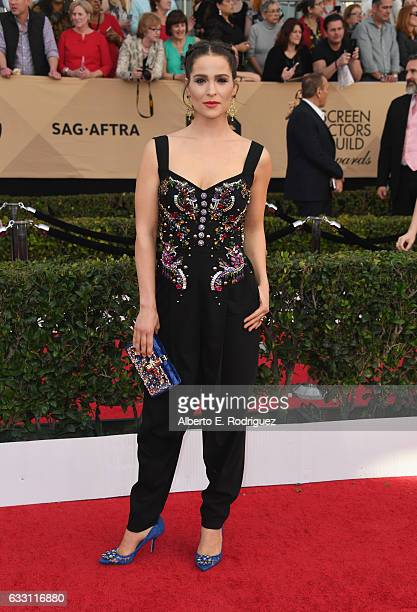 Gianna Simone attends the 23rd Annual Screen Actors Guild Awards at The Shrine Expo Hall on January 29 2017 in Los Angeles California