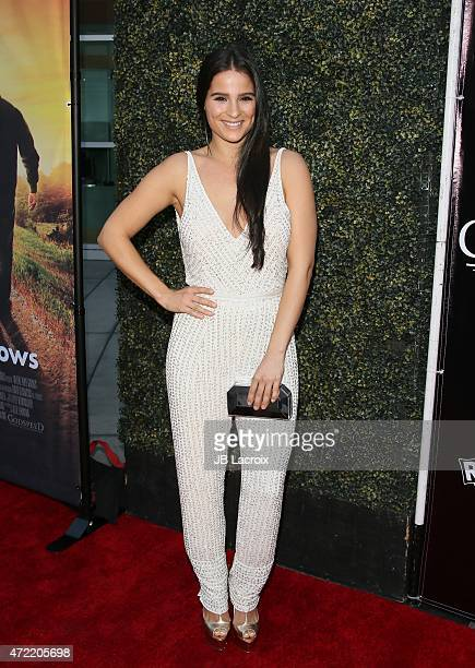 Gianna Simone attends the premiere of Roadside Attractions' Godspeed Pictures' 'Where Hope Grows' at ArcLight Cinemas on May 4 2015 in Hollywood...