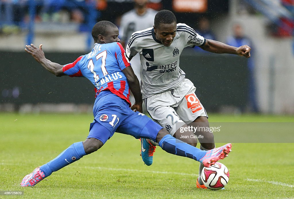 SM Caen v Olympique de Marseille - Ligue 1 : News Photo