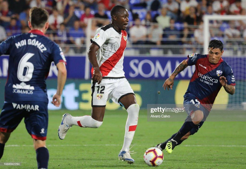 SD Huesca v Rayo Vallecano - La Liga : News Photo