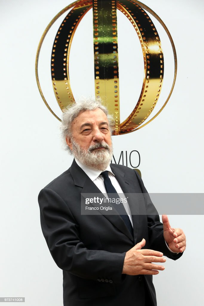 Gianni Amelio attends Globi D'Oro awards ceremony at the Academie de France Villa Medici on June 13, 2018 in Rome, Italy.