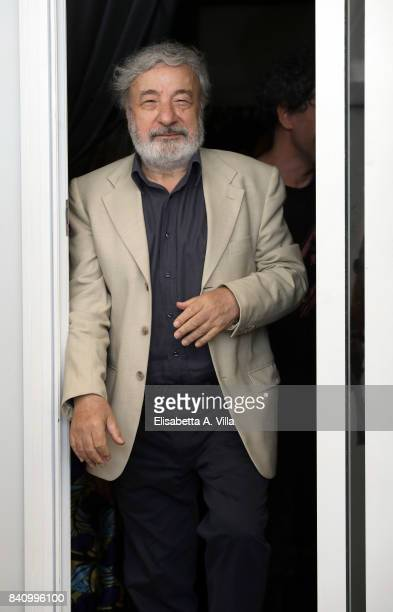 Gianni Amelio attends the Jury photocall during the 74th Venice Film Festival on August 30 2017 in Venice Italy