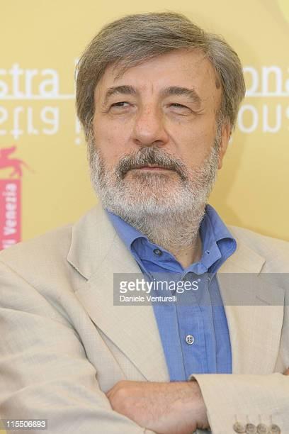 Gianni Amelio director during The 63rd International Venice Film Festival La Stella Che Non C'e Photocall at Palazzo del Casino in Venice Lido Italy