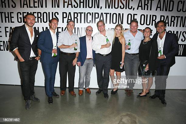 Gianni Aslo Kevin Henry guests Chad Wodskow Brooke SherickOdom Chris Taylor Claudia Falcone and Marco Seminaroti attend the Second Annual MADE For...