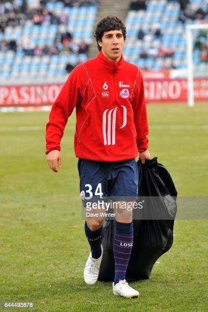 Gianni BRUNO Lille / Grenoble Ligue 1 28eme journee Stadium Nord Villeneuve D'ascq Photo Dave Winter / Icon Sport