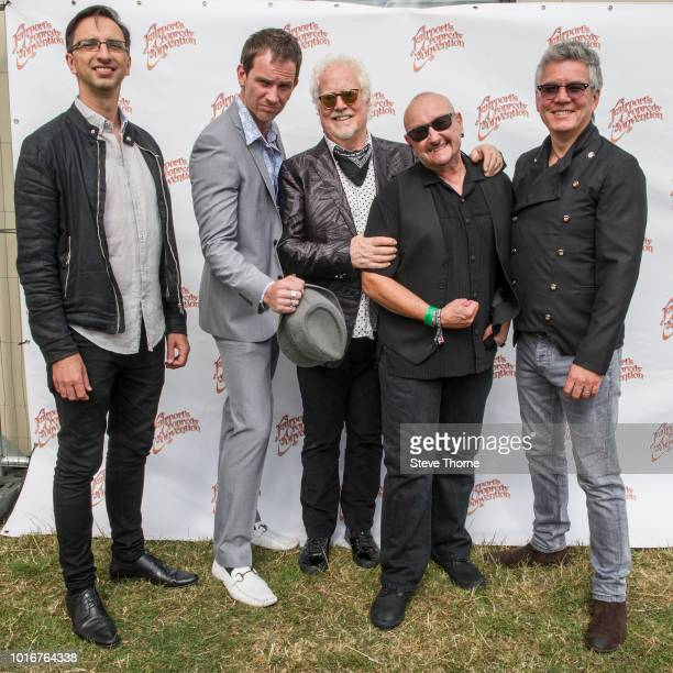 Gianni ChiarelloSam Tanner Jim Cregan Harry James and Pat Davey of Cregan Co pose for a portrait at Fairport Convention's Cropredy Convention at...
