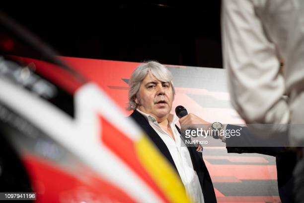 Gianni Cuzari MV AGUSTA amp Forward Racing Team presentation of the official racing team and drivers Stefano Manzi and Dominique Aegerter Monday 11...