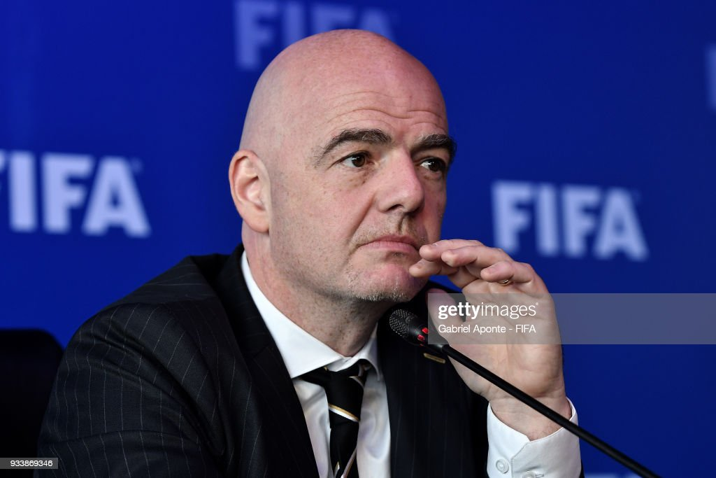 FIFA Council Meeting in Bogota - Day 2 : News Photo