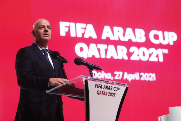 QAT: FIFA Arab Cup Qatar 2021 Official Draw