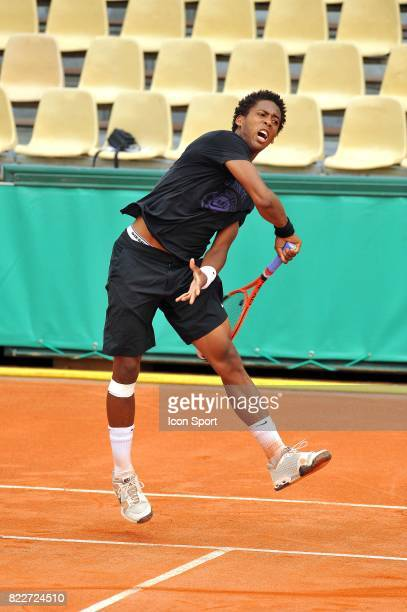 Gianni MINA Entrainement Roland Garros