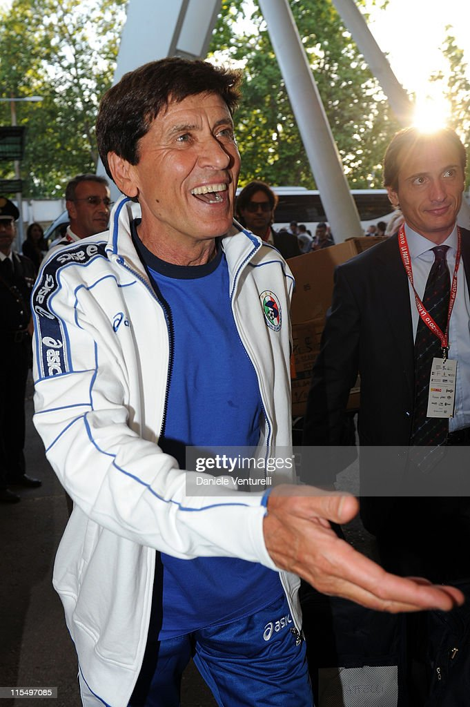 ACCESS** Gianni Morandi attends the XIX Partita Del Cuore charity football game at on May 25, 2010 in Modena, Italy.