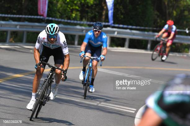 Gianni Moscon of Italy and Team Sky / during the 2nd Tour Of Guangxi 2018 Stage 1 a 1074km stage from Beihai to Beihai / Gree Tour of Guangxi / TOG /...