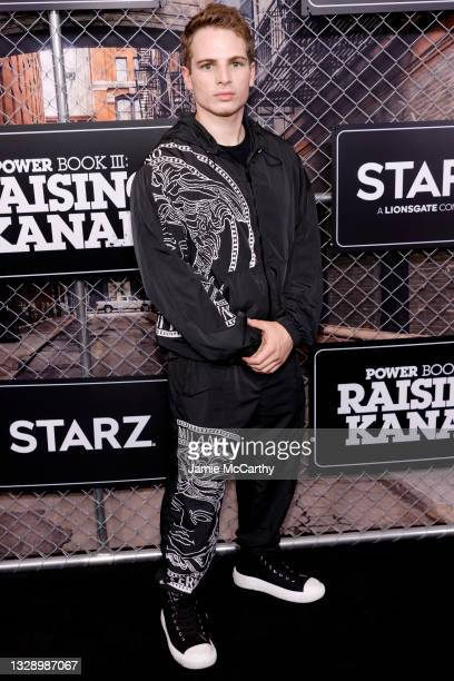Gianni Paolo attends 'Power Book III: Raising Kanan' global premiere event and screening at Hammerstein Ballroom on July 15, 2021 in New York City.
