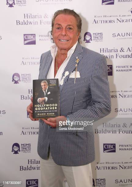 Gianni Russo at the East Hampton Library's 15th Annual Authors Night Benefit on August 10 2019 in Amagansett New York
