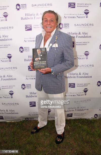 Gianni Russo at the East Hampton Library's 15th Annual Authors Night Benefit on August 10, 2019 in Amagansett, New York.